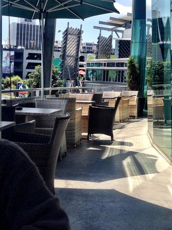 Salt Restaurant: Balcony