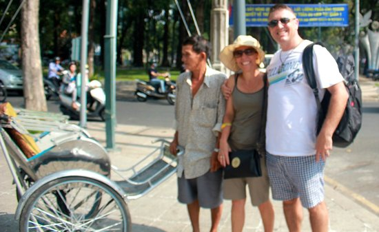 Ho Chi Minh City Urban Adventures: Cyclo tour