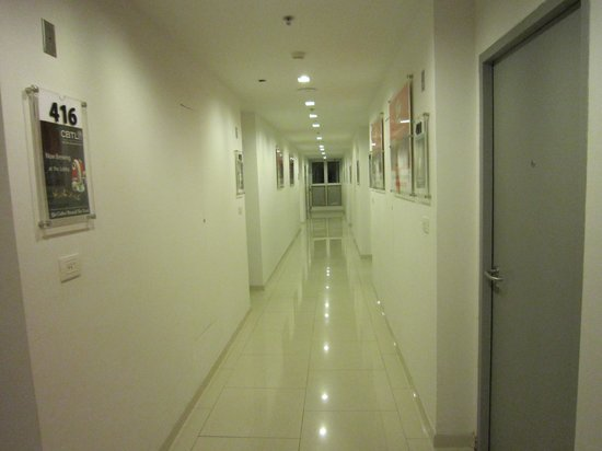 Red Planet Asoke, Bangkok : the corridor