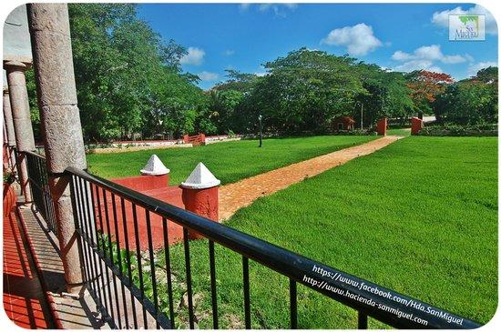 Hacienda San Miguel : Jardines principales