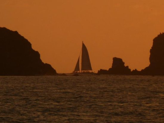 Sunscape Dorado Pacifico Ixtapa: awesome sunset