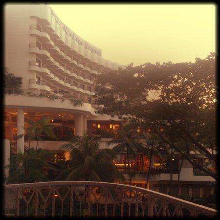 Shangri-La's Rasa Sentosa Resort & Spa: Morning views