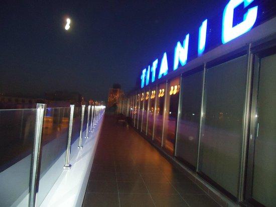 Titanic City Hotel : Terraço panorâmico