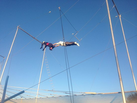 Trapeze Federation: Got it for first try! Awesome experience!