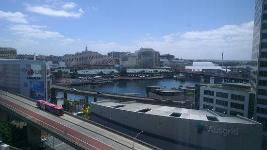 PARKROYAL Darling Harbour Sydney: View from 9th level