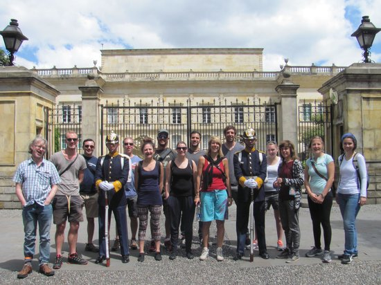 Bogotravel Tours: Group shot