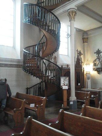 Loretto Chapel : Lorretto Chapel Spiral Staircase