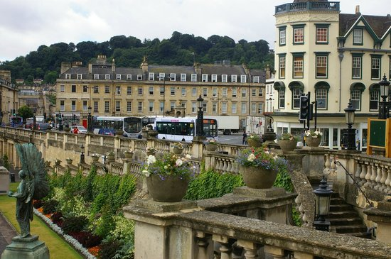 The Abbey Hotel: View looking across the Square