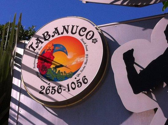 Tabanuco: L'enseigne