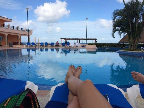 El Cozumeleño Beach Resort: great pool