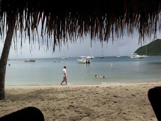 Ti Payot : Les tables sont si proche de l'eau!Magnifique