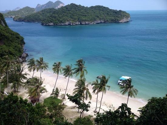 Havana Beach Resort: view from mae koh island viewpoint