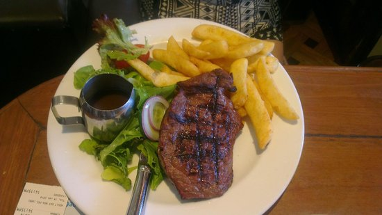 Harbour View Hotel: Meal