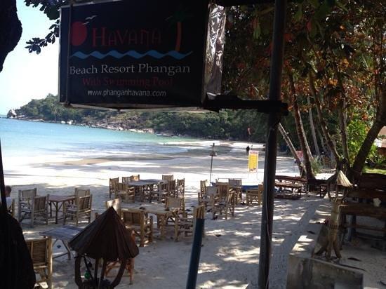 Havana Beach Resort: havana hotel breakfast view