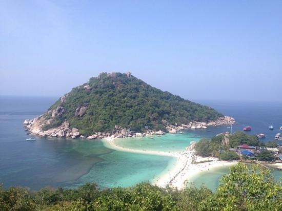 Koh Tao Coral Grand Resort: viewpoint nangyuan