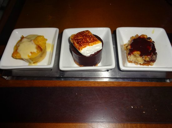 The Wave...of American Flavors: American Flavors dessert trio