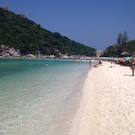 Koh Tao Coral Grand Resort: koh nangyuan beach