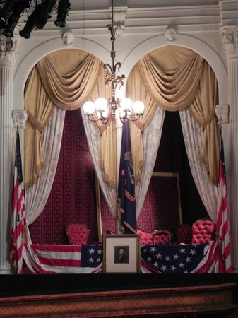 Ford's Theatre: The President's Box