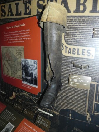 Ford's Theatre: John Wilkes Booth's Boot