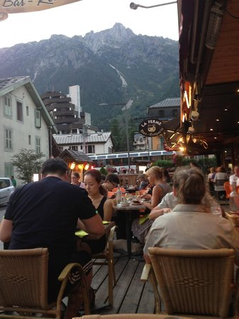 Restaurant La Tablée : The view from my table