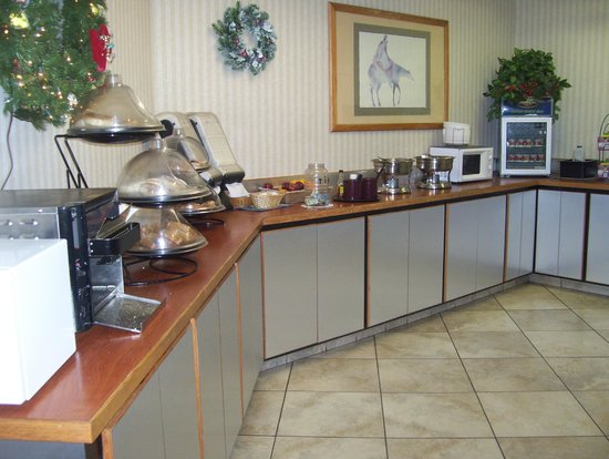 Quality Inn Phoenix Airport: breakfast corner