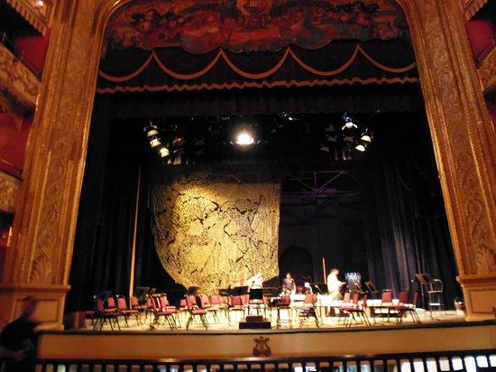 Teatro Nacional: il palco