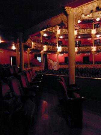Teatro Nacional: le sedute