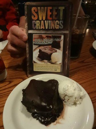 Cracker Barrel: Coca-Cola Cake
