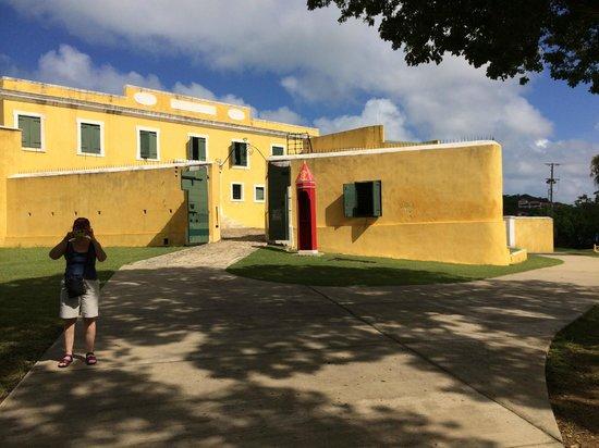 Fort Christiansvaern: Fort entrance
