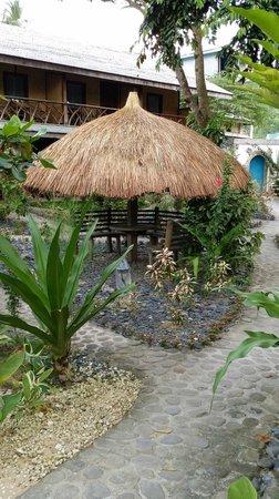 Coral Bay Resort: nipa hut