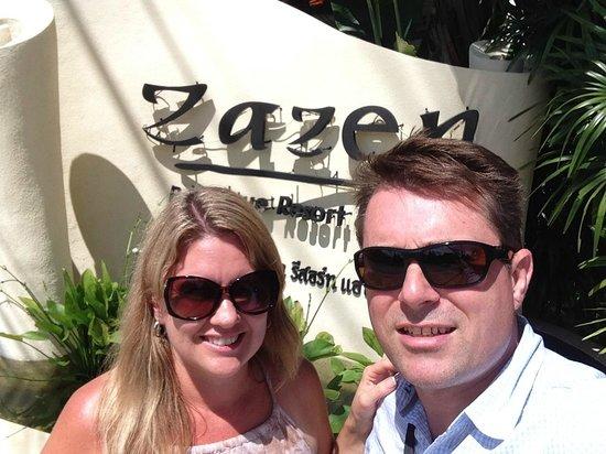 Zazen Boutique Resort & Spa : Front of resort