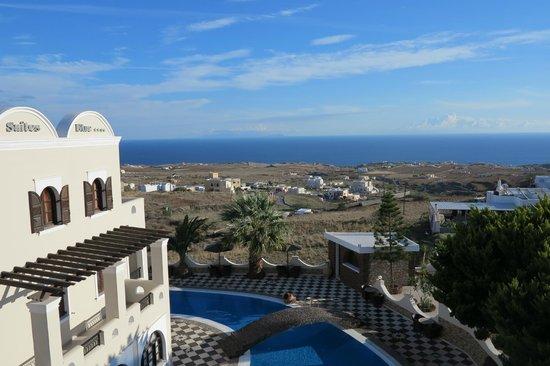 Evgenia Villas & Suites : view from balcony