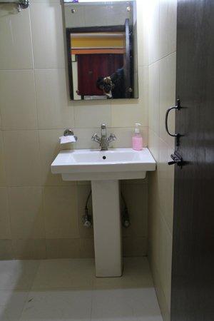 Hotel Su Shree Continental: Bathroom with free toiletries