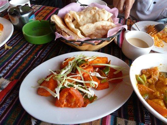 XiZang Man Zhai Restaurant : 好吃的素餐