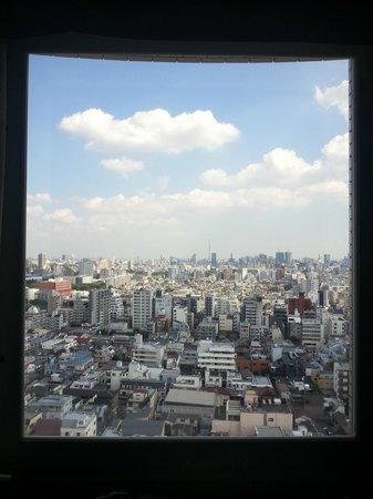 Hundred Stay Tokyo Shinjuku: Day View from room (15th Floor)