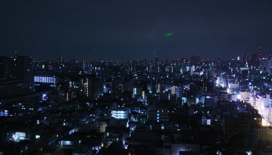 Hundred Stay Tokyo Shinjuku: night view from room