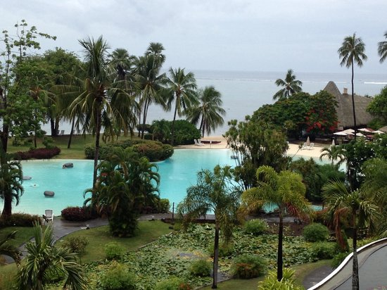 Le Meridien Tahiti: Dreamy view