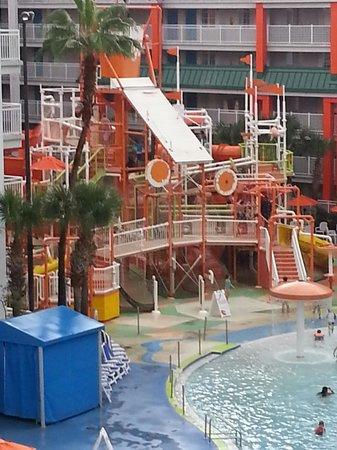 Nickelodeon Suites Resort: Slimed