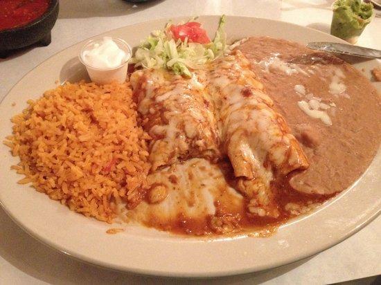 Casanova Mexican Restaurant: Enchiladas