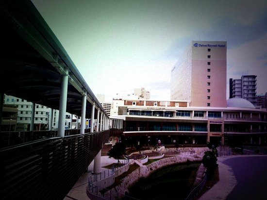 Daiwa Roynet Hotel Naha Kokusaidori: 牧志駅とスロープで直結
