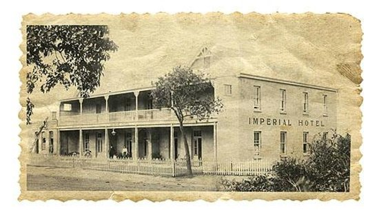 Royal Hotel Knysna : 1890's