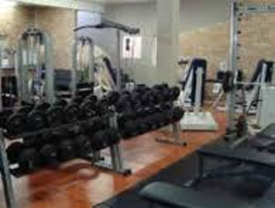 Royal Hotel Knysna: Gym facilities are open to guests for free
