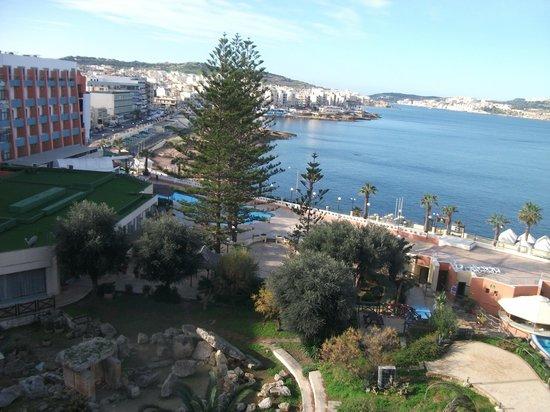 Dolmen Hotel Malta : view