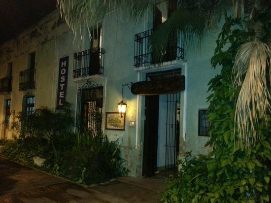 Hostel Candelaria: Entrada