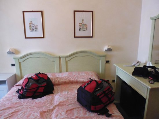 Universo Nord Hotel : Main bedroom