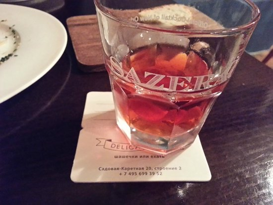 Delicatessen: Best sazerac east of the Mississippi (well except for New Orleans)