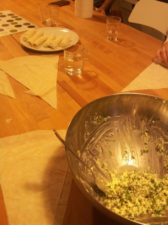 Istanbul Cooking School : Rolls and rolls of happiness