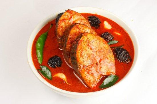 Club 7 Hotel : Fish Curry