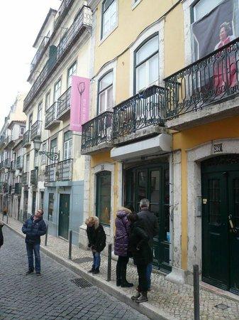 rosa da rua: Vitrine discrète depuis la rue...