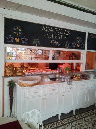 Ada Palas Butik Otel: Food served fresh